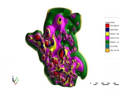 Software avançado para modelagem geológica e de mina e Gerenciamento de Bancos de dados Geológicos.