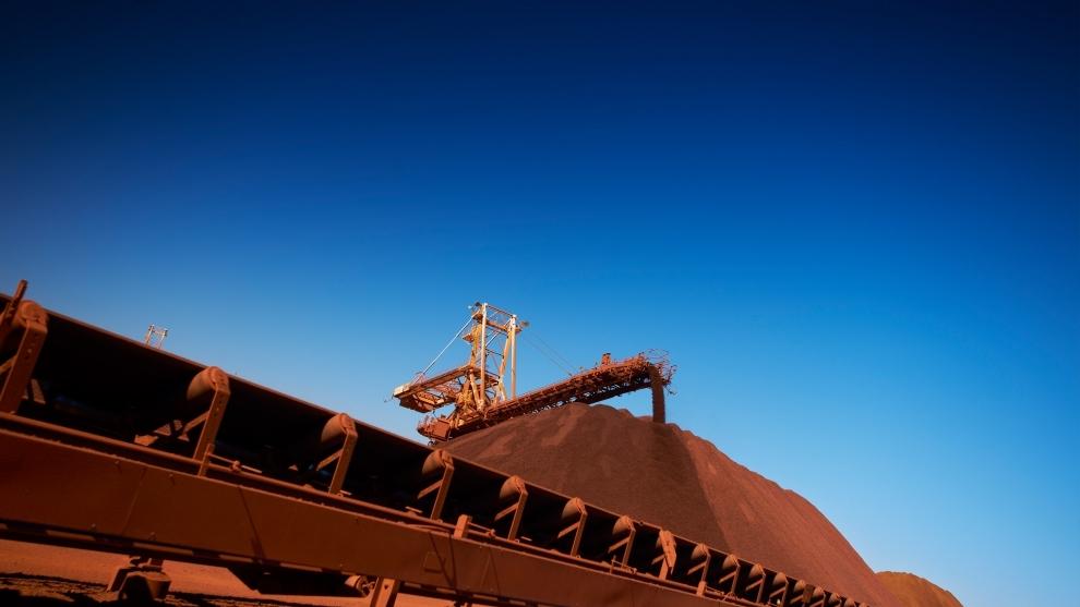 Minério de Ferro atinge pico de cinco meses na China