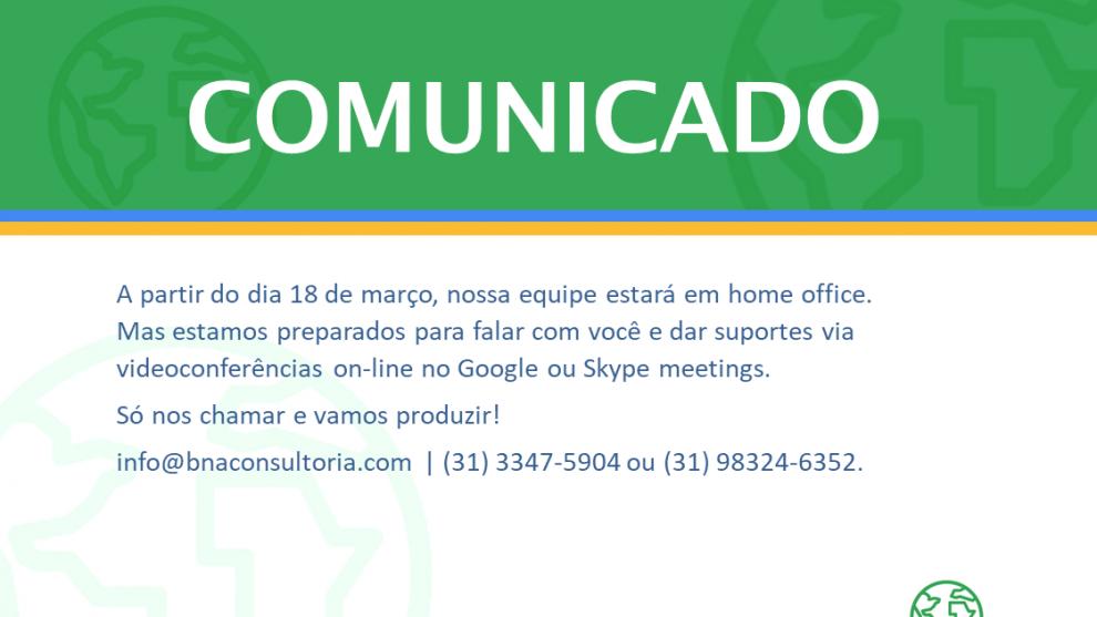 Comunicado BNA MINING SOLUTIONS