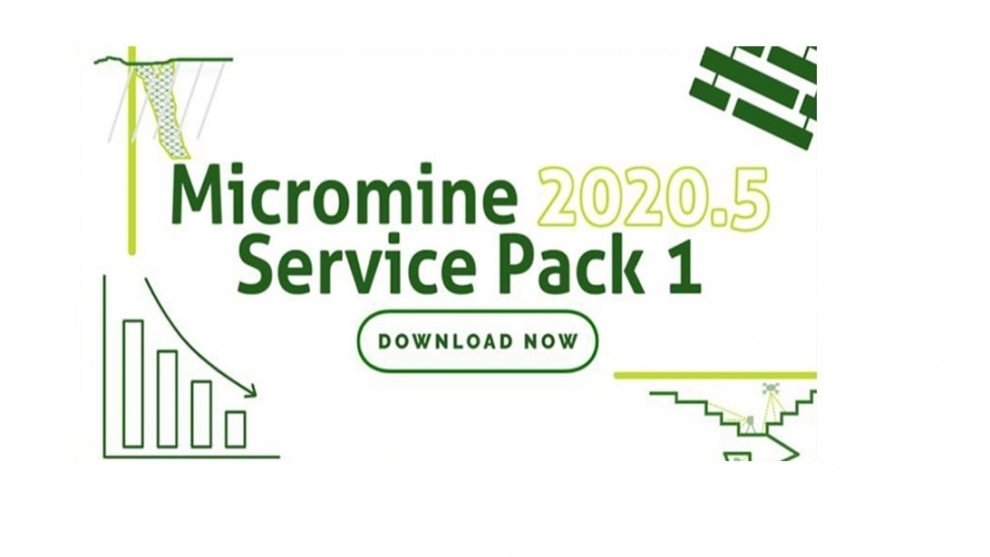 Service Pack 1 Micromine 2020.5.