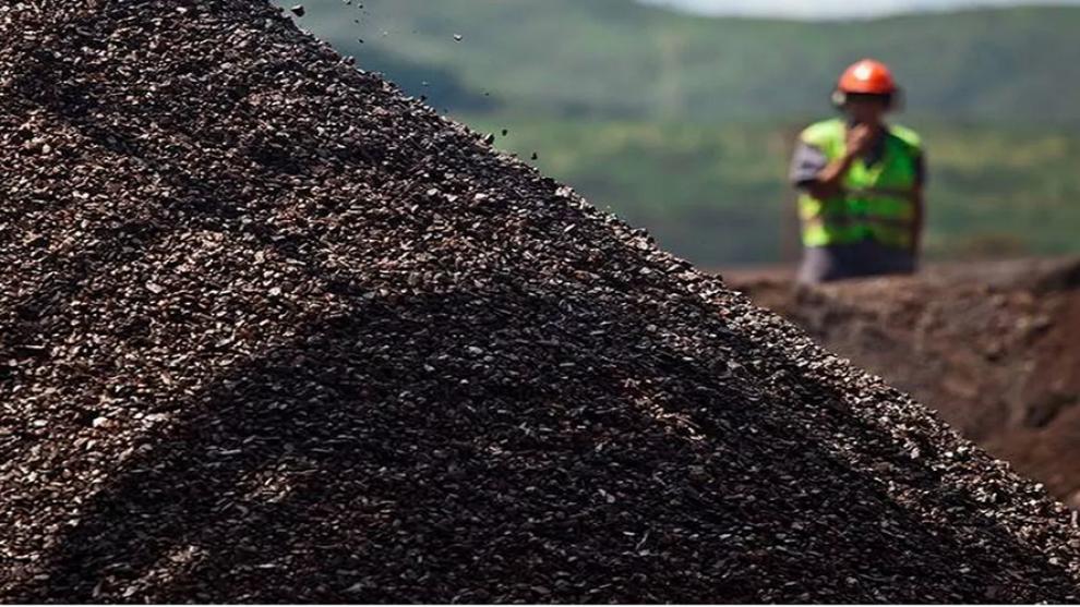 Aumento na exportação de Minério de Ferro.